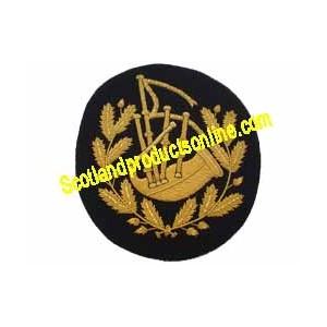 Bagpiper Badge