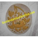 SCOTTISH PIPE MAJOR BAGPIPE ARM BADGE