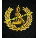 Bagpipe Arm Badge