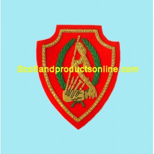 Libya Band Pipe Arm Badge